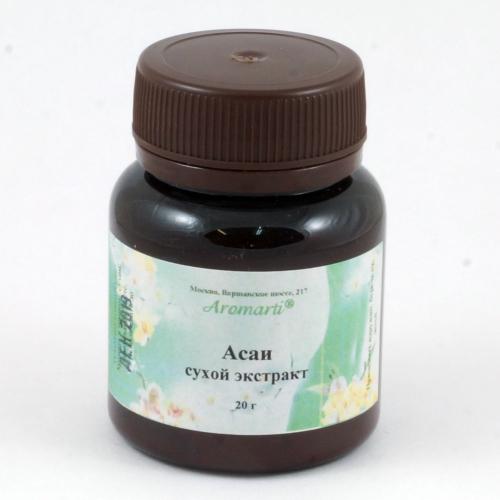Асаи (Эвтерпа овощная) сухой экстракт (20г)