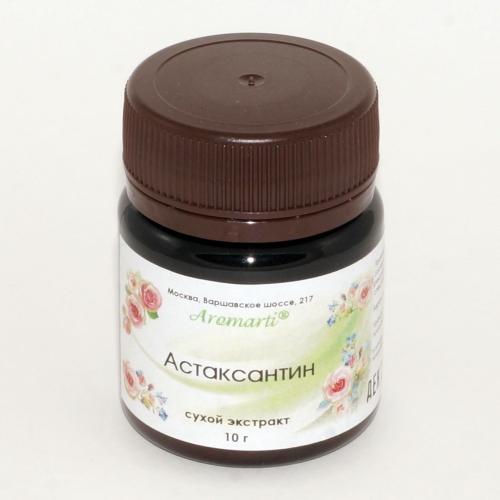 Астаксантин сухой экстракт (10г)