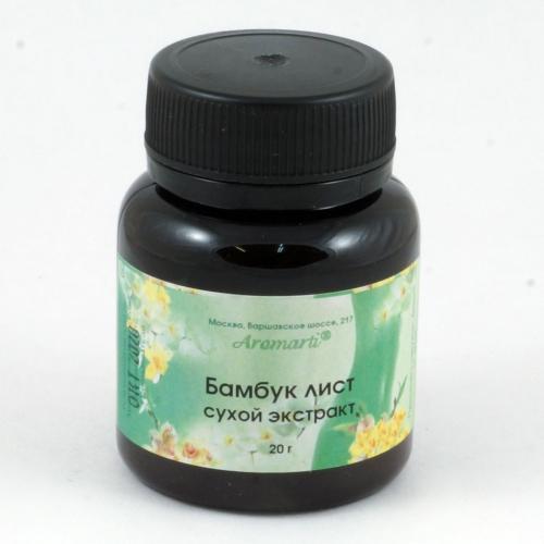 Бамбук лист сухой экстракт (20г)