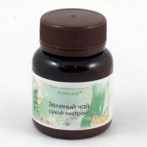 Чай зеленый сухой экстракт (20г)