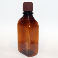 Флакон для шампуня коричневый 250мл