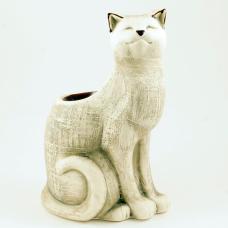 Кот жмурик шликер аромалампа (15см)