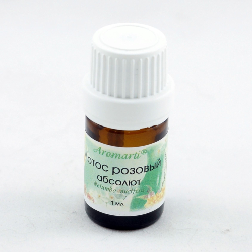 Лотос розовый абсолют (1мл)