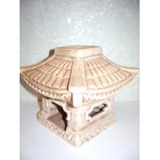 Пагода керамика аромалампа (13см)