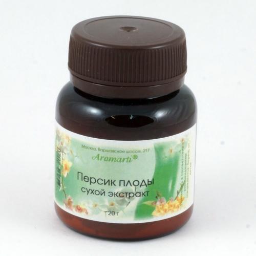 Персик плоды сухой экстракт (20г)