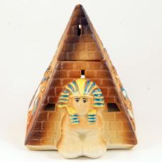 Пирамида роспись аромалампа (14см)