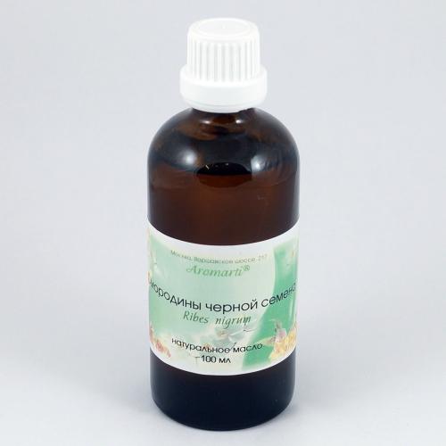 Семена черной смородины масло (100мл)