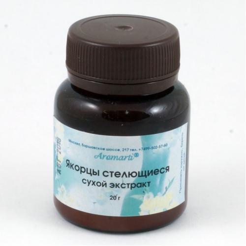Якорцы стелющиеся сухой экстракт (20г)