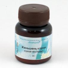 Женьшень сухой экстракт (20г)