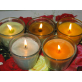 Ароматическая свеча Ирис-Ваниль