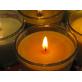 Ароматическая свеча с ярким ароматом цветов Магнолия