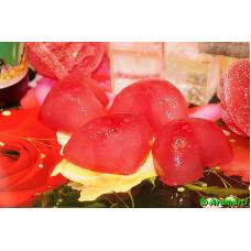 Супер увлажняющий лед для лица «Роза и клюква»