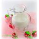 Гель для душа на пектине «Клубничный йогурт»