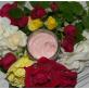Розово-клубничный крем для тела
