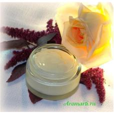 Ночной крем для лица «Амарант и ванильная роза»