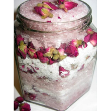Соль для ванны с ароматом розы