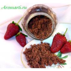 Сахарный скраб для тела «Клубника и ананас»