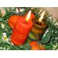 """Натуральные ароматические свечи """"Апельсиновая роща"""" и """"Лавандовая поляна"""""""